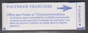French Polynesia 678A Booklet MNH VF