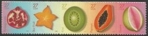 Scott #4253-4257a MNH Tropical Fruit Strip of 5