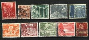 Switzerland  230,274,329,330,332,333,337,338,+1   used PD
