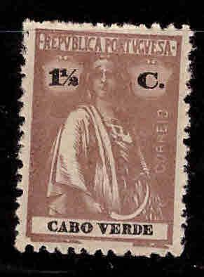 Cape Verde Scott 176 MH* Ceres stamp