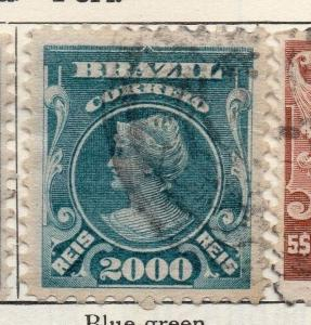 Brazil 1915-16 Early Issue Fine Used 2000r. 113239