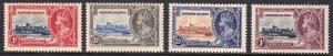 Leeward Islands - Scott #96-99 - MH - Gum toning - SCV $28.50
