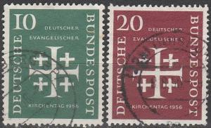 Germany #744-5 F-VF Used CV $8.50 (C7265)