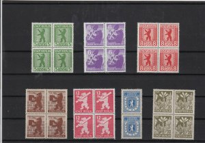 German Russian Zone 1945 mint never hinged Stamps Ref 15717