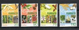 Vanuatu 781-784 MNH .