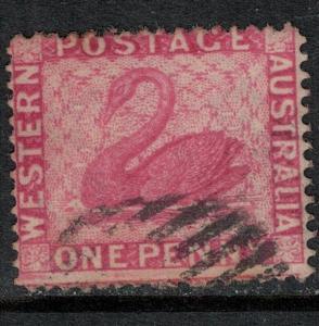 Western Australia 1854 SC 25 Used SCV $110