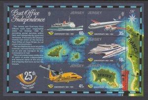 Jersey 689a Souvenir Sheet MNH VF