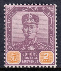 Malaya (Johore) - Scott #60 - MNG - SCV $3.00