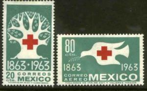 MEXICO 938, C277 Centenary of the International Red Cross MINT, NH. VF.