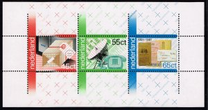 NETHERLANDS STAMP 1981 The 100th Anniversary of the Postal and Telegraph MNH S/S