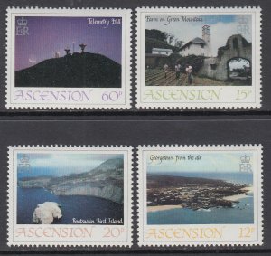Ascension MNH 328-31 Islands Nature Views 1983