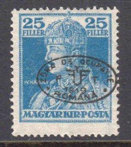 HUNGARY 2N30a OG LH L/M F-VF $75 SCV ROMANIA OCCUPATION