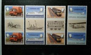 Grenada-Grenadines #388-91 MNH e208 10758