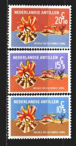 Antilles. 1968. 190-93 from the series. Social and cultural institutions. MNH.
