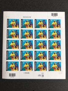 2002 sheet 37-cent Kwanzaa Sc# 3673