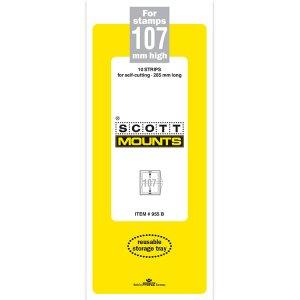 Scott Mount 107 x 265 mm  (Scott 955 Clear)