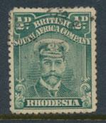 British South Africa Company / Rhodesia  SG 186 Used perf 14 see scans & details