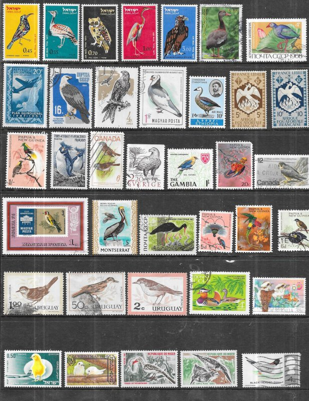 Birds of the World 37 issues Spanning the World