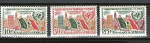 Senegal 207-209 MNH