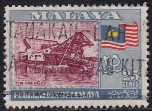 Malaya Federation - 1957 - Scott #82 - used