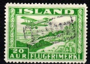 Iceland #C16a Revenue Cancel  CV $50.00 (X9290)
