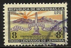 Honduras Official Air Mail 1957 Scott# CO91 Used