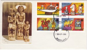 Eynhallow, Chess Pieces & Rotary Anniversary, First Day Covers