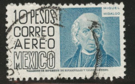 MEXICO Scott C216 used 1953 airmail stamp CV$1.25