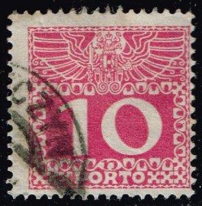 Austria #J38 Postage Due; Used (0.25)