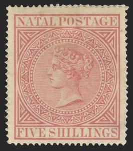 Natal Scott 56 Gibbons 71 Mint Stamp