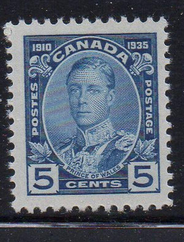Canada Sc 214 1935 5c Prince of Wales stamp mint