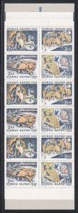 Sweden # 1660a, Booklet, Christmas, NH, 1/2 Cat