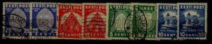 Estonia 134-37 used,2x,SCV20.60