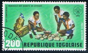 Togo Boy Scouts 200 - pickastamp (TP6R201)