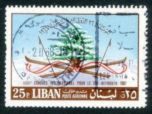 Lebanon * Scott C 544 * Used * 1968
