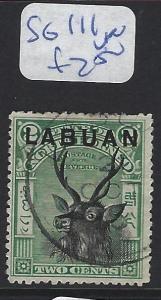 LABUAN (P2307B)  2C DEER   SG 111    VFU