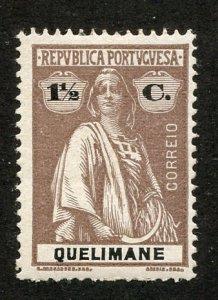 Quelimane, Scott #28 Unused, Hinged