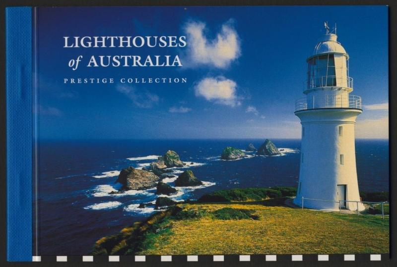 Australia 2050c Booklet MNH Lighthouses, Maps