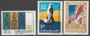 Uruguay #713, C266-7   MNH   (S7809)