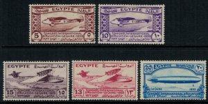 Egypt #172-6*  CV $81.50