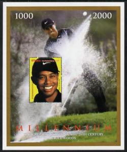 Turkmenistan 2000 Millenium - Tiger Woods, the Greatest G...