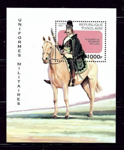 Togo 1770 MNH 1997 Military Uniform S/S