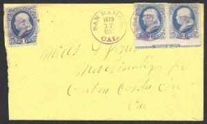 Doyle's_Stamps: 1879 Postal History San Ramon, California