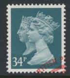 SG 1473 Sc# MH197 Used with first day cancel - Penny Black anniv 34p