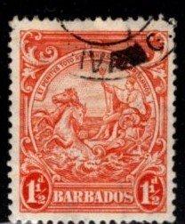 Barbados - #195 Seal of Barbados - Used