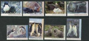 AUSTRALIAN ANTARCTIC AAT Sc#L83-L89 (8) 1992-93 Penguins & Seals Cpl Set OG MNH