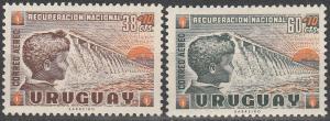 Uruguay  #CB1-2  MNH F-VF  (V172)