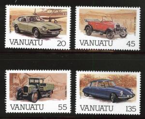 VANUATU Scott 434-437 MNH**  set