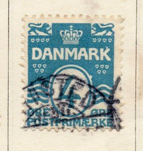 Denmark 1875 Early Issue Fine Used 4ore. NW-113858