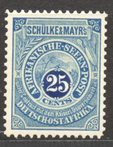 East Africa, S & M Lake Mail, 25 C., MNH original, (not the re-print), no faults